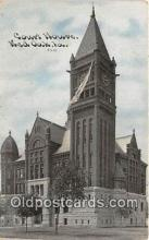 cth001114 - Court House Vintage Postcard