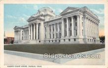 cth001131 - Court House Vintage Postcard
