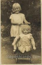 cwd000001 - Children, Child with Doll Postcard Post Card