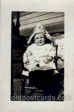 cwd000012 - Children, Child with Doll Postcard Post Card