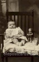 cwd000016 - Children, Child with Doll Postcard Post Card