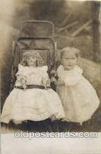 cwd000021 - Children, Child with Doll Postcard Post Card