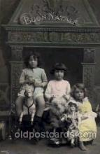 cwd000029 - Children, Child with Doll Postcard Post Card