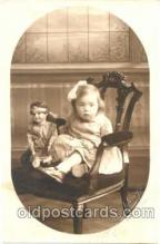 cwd001019 - Child, Children With Doll Postcard Post Card