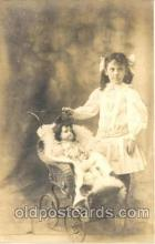 cwd001020 - Child, Children With Doll Postcard Post Card