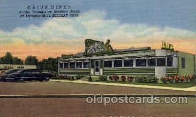 DNR001003 - Cajun Diner, St. Petersburg's Holiday Isles Florida USA