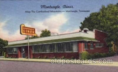 DNR001011 - Monteagle Diner, Atop The Cumberland Mountains, Monteagle, Tennessee, USA