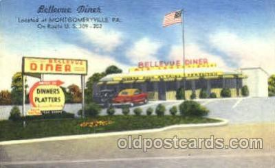 DNR001021 - Bellevue, Mongomeryville, PA, USA Postcard Post Card