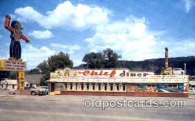 DNR001061 - The Chief Diner, Durango Co. USA, Postcard Post Card