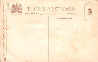dam002045 - Valentines Day Post Card Old Vintage Antique Postcard  back