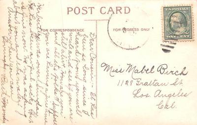 dam002135 - Valentines Day Post Card Old Vintage Antique Postcard  back