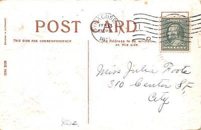 dam002361 - Valentines Day Post Card Old Vintage Antique Postcard  back