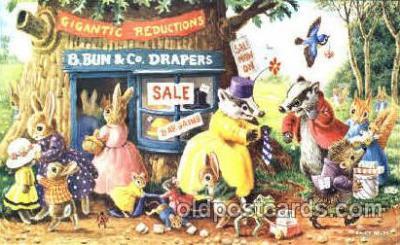 dan002025 - Artist Racey Helps, Dressed Animal Postcard Post Card