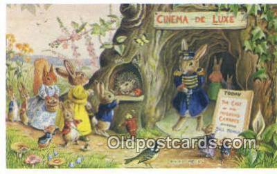 dan002168 - Racey Helps Post Card, Artist Signed Post Card Old Vintage Antique, PK 222