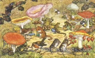 dan003032 - PK 433 Artist Molly Brett, The Medici Society Ltd. Postcard Post Card