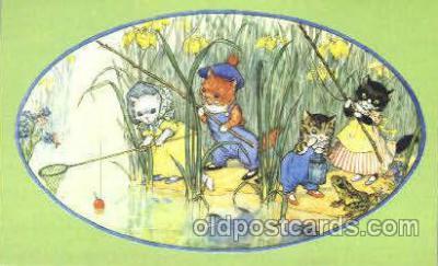 dan003036 - PK 142 Artist Molly Brett, The Medici Society Ltd. Postcard Post Card