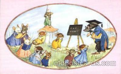 dan003037 - PK 427 Artist Molly Brett, The Medici Society Ltd. Postcard Post Card
