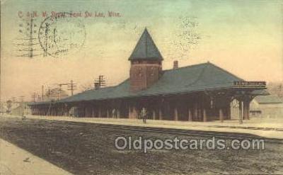 C & N W Depot, Fond Du Lac, WI, USA