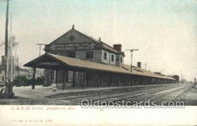 C & NW Depot, Janesville, WI , USA