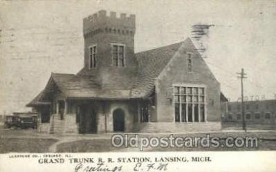 Grand Trunk RR Station, Lansing, MI, USA