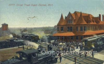 Grand Trunk Depot, Dur&, MI, USA