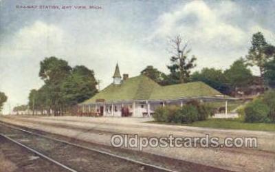 RR Station, Bay View, MI USA
