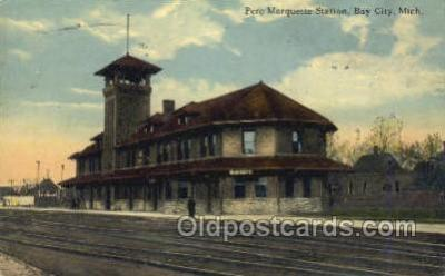 Pere Marquette Station, Bay City, MI USA