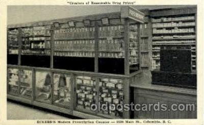 Eckerds Prescription Counter, Columbia, S.C. USA