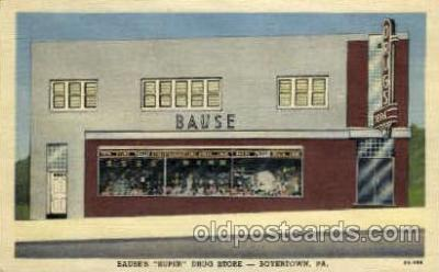 Bauses Super Drug Store- Boyertown, PA, Pennsylvania, USA