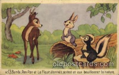 dis001053 - Disney Postcard Post Card