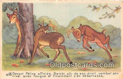 dis001103 - Bambi  Postcard Post Card