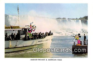 Maid of the Mist & American Falls