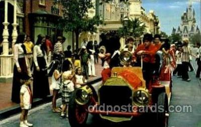 Riding Down Main street  USA