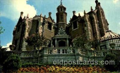 dis100054 - The haunted mansion Disney Postcard Post Card
