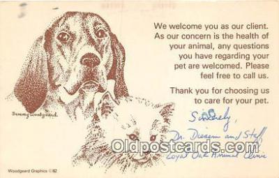 dog200004 - Sammy Woogeard Postcard Post Card