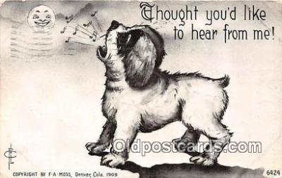 dog200029 - F A Moss Denver, Colorado, USA Postcard Post Card