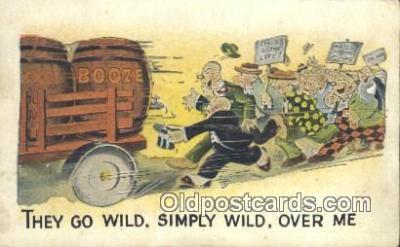 drk001058 - The Go Wild  Postcard Post Cards Old Vintage Antique