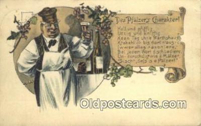 drk001070 - De Pfalzer's Charakter  Postcard Post Cards Old Vintage Antique