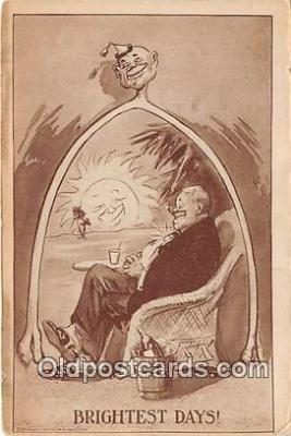 drk001204 - Brightest Days  Postcards Post Cards Old Vintage Antique