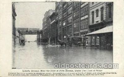 Flood, Liberty Ave., Allegheny County, Penn. Pennsylvania, USA