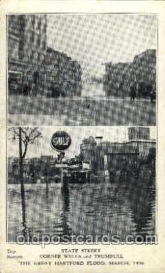 The great Hartford Conn.USA Flood, March, 1936