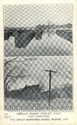 The great Hartford Conn.USA Flood, March, 1937
