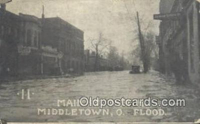 Main St North, Flood