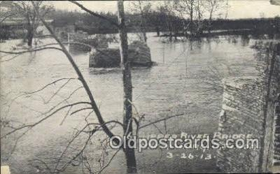 Upper River Bridge, Flood