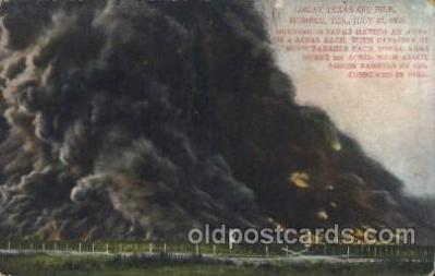 Great Texas oil fire, July 23rd, 1905, USA