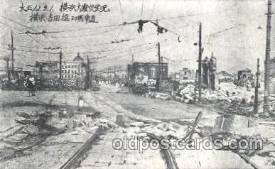 Yokohama Japan Earthquake Disaster 1923