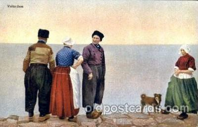 dut001027 - Dutch Children Old Vintage Antique Postcard Post Card