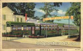 DNR001014 - Rhinebeck Diner route U.S. 9 Rhinebeck, New York, USA