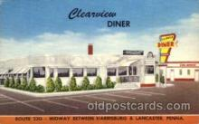 DNR001015 - Clearview Diner, Route 230 Midway Harrisburg & Lancaster, Pennsylvania, USA