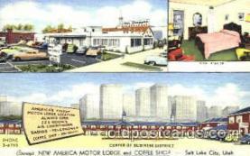 DNR001046 - Covey's, Salt Lake City, Utah USA Postcard Post Card
